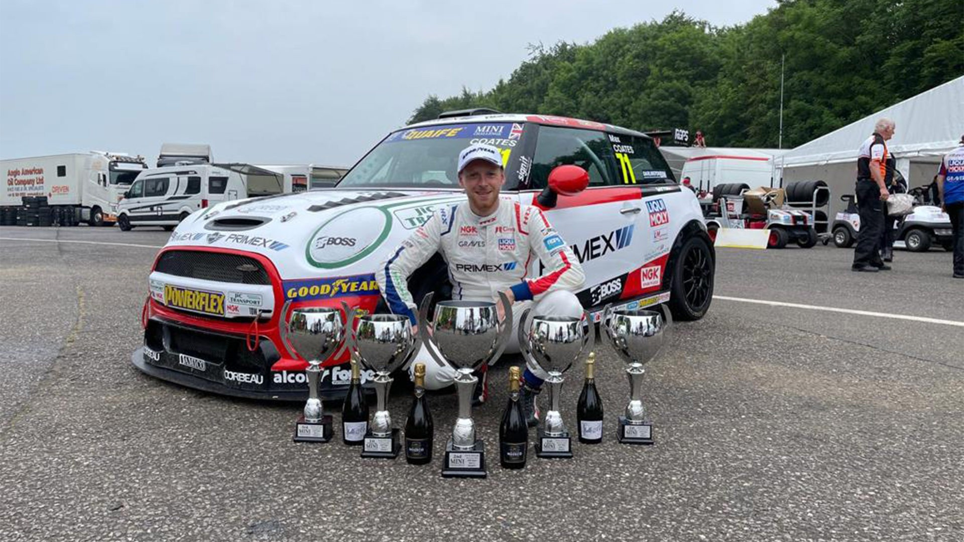 Graves Motorsport announce multi-year contract extension with Coates and BTCC plans