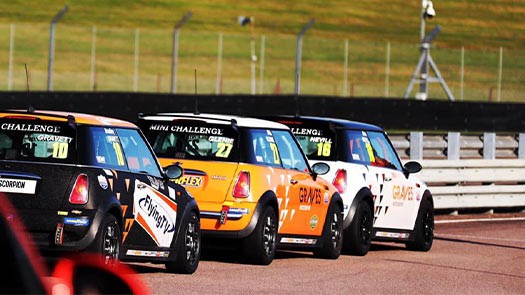 2021 Drives available in Mini Challenge JCW and Cooper Classes